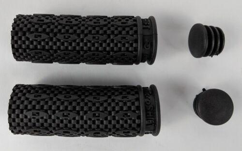 "Black microSHIFT Grips Bicycle MTB Twist Shift Compatible SHIMANO SRAM 3 1//4/"" H1"
