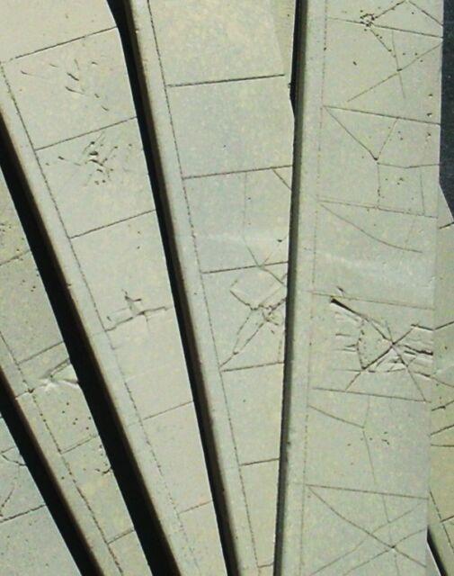 Downtown Deco HO Fine Scale HOn30 HOn3  1//87 Scale Sidewalks Buy 2 Sets Get 3!