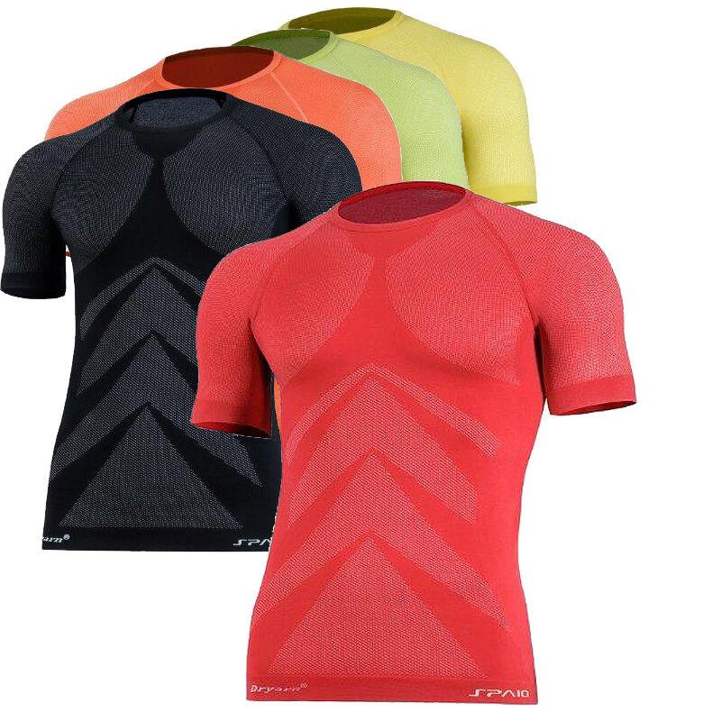 Laufshirt Funktionsshirt Jogging Fitness - sehr leicht 3D ELASTISCH   Thermoaktiv  shop now