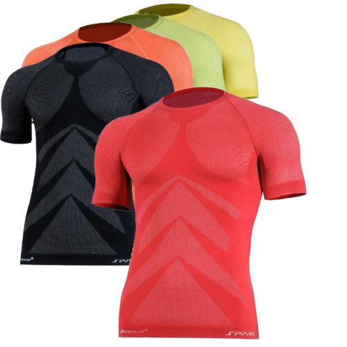 Laufshirt Funktionsshirt Jogging Fitness sehr leicht 3D ELASTISCH  Thermoaktiv