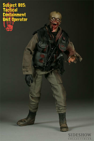 Sideshow THE DEAD SUBJECT 805 TACTICAL CONTAINMENT 1/6 scale 12