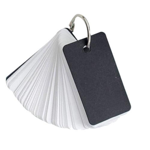 Blanko Kraftpapier Pocket Lernkarten Karteikarten Notizkarten für unterwegs mit