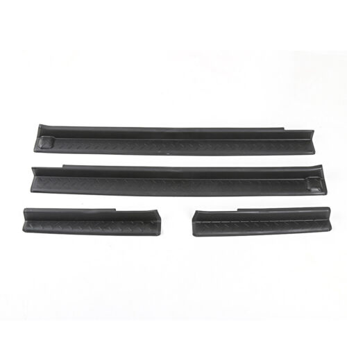 Door Sill Threshold Protector Scuff Plate Entry Guards for Jeep Wrangler JK 4-dr