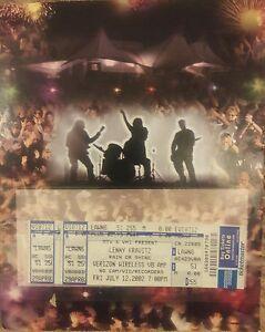 Lenny-Kravitz-Concert-Tickets-7-12-02-Virgina-Beach-Va-W-Poster-W-Ticket-Holder
