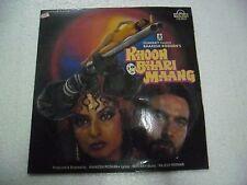 KHOON BHARI MAANG RAJESH ROSHAN 1988  RARE LP RECORD OST BOLLYWOOD VINYL VG+