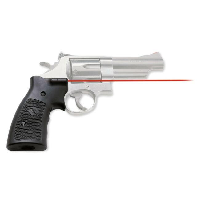 Crimson Trace Lasergrips for Smith & Wesson K L N Frame Square Butt ...