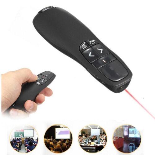 2.4GHz Professional Wireless R400 Receiver PPT Presenter Red Lase Pointer Hot