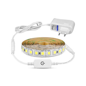 DC-12V-5M-Dimmable-LED-String-Light-Fairy-TV-Back-Light-Holiday-Home-Party-Decor