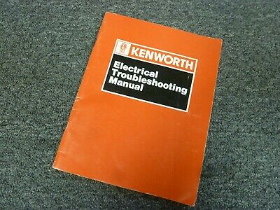 1987-1988 Kenworth T800 Truck Electrical Troubleshooting ...