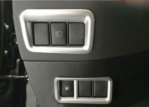 ABS Scheinwerfer Schalter Taste Abdeckleiste 2 Stück für Toyota C-HR 2016-2019