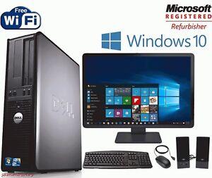 Fast-Dell-Optiplex-Desktop-PC-Computer-Dual-Core-3-0Ghz-8GB-2TB-Win-10-Pro-19-034