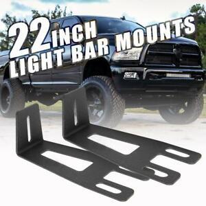 22inch 280W CREE LED Light Bar Mount Brackets For Dodge Ram 2500//3500 2003-2014