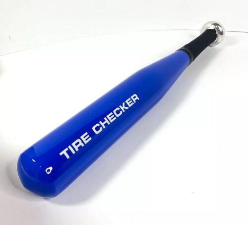 "17/"" Aluminum Tire Checker Thumper Bat Blue"