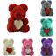 15-034-Teddy-Rose-Bear-Heart-Foam-Flower-Bear-Toys-Wedding-Birthday-Lovers-Gift-Hot thumbnail 1