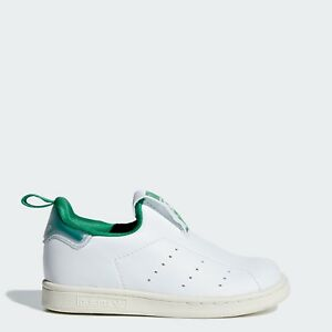 size 40 2fe8d 1e984 Image is loading Adidas-AQ1112-toddler-Stan-Smith-360-I-baby-