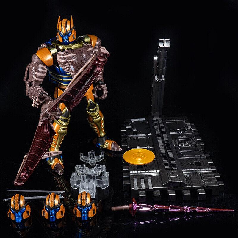 Nuevos Transformers Masterpiece Mp -41 Beast Wars Dinobot K.O ver juguetes figura de acciones