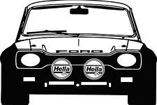 Ford Focus MK1 ST170 Grey Vinyl Wall Art Sticker