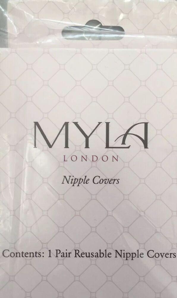 Myla Réutilisable Nipple Covers Shields Entièrement Neuf Dans Sa Boîte Sans Mamelon Show Sur Tapis Rouge