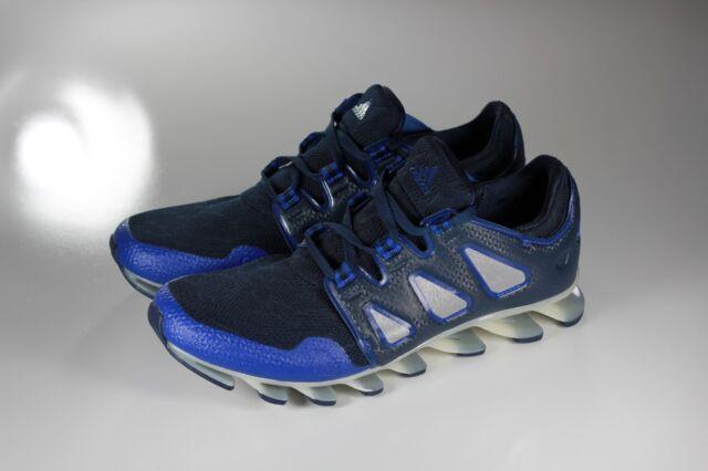 online retailer a90c9 912fb adidas Springblade Blue and Black Running Shoes Men's Sz 8 B27540