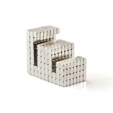 100pcs 3mm X 3mm X 3mm Block Cube Magnets Rare Earth Neodymium N38