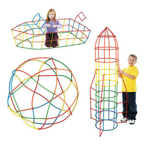 100Pcs-Plastic-Boys-Girls-4D-Straw-Building-Blocks-Joint-Development-Kids-Toys