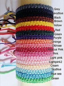 Thai-Wristband-Friendship-Bracelet-Fair-Trade-Good-Karma-Select-Color