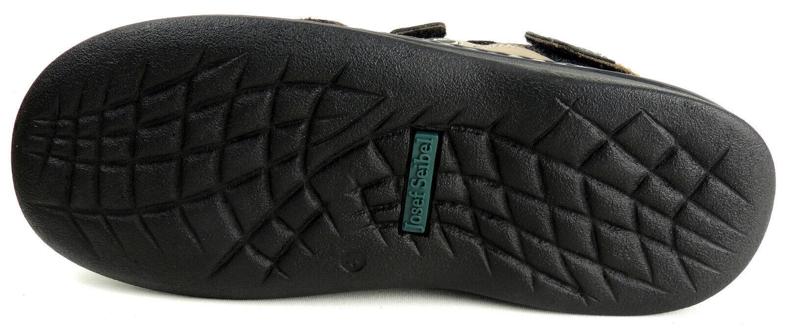 JOSEF SEIBEL  Herren - Sandale    NUBUKLEDER  3x Klett   FRANKLYN   grau    Modern Und Elegant In Der Mode  a1c5f9