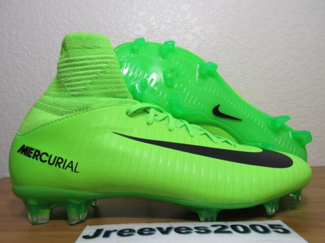 best loved e3a85 a623f Nike Jr Mercurial Superfly V FG Soccer Cleats Sz 4.5y 100 Auth 831943 303  Youth