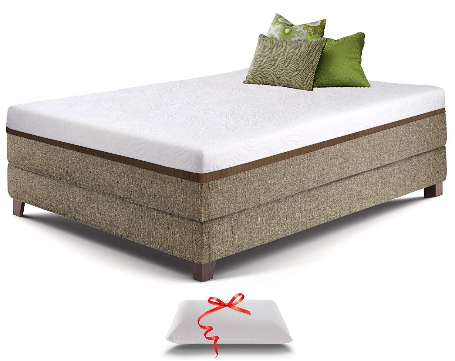 Cooling Gel Memory Foam Mattress 12 Inch King Size With Premium