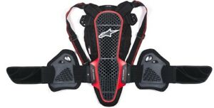 Paraschiena-Alpinestars-Nucleon-KR-3-Smoke-black-red