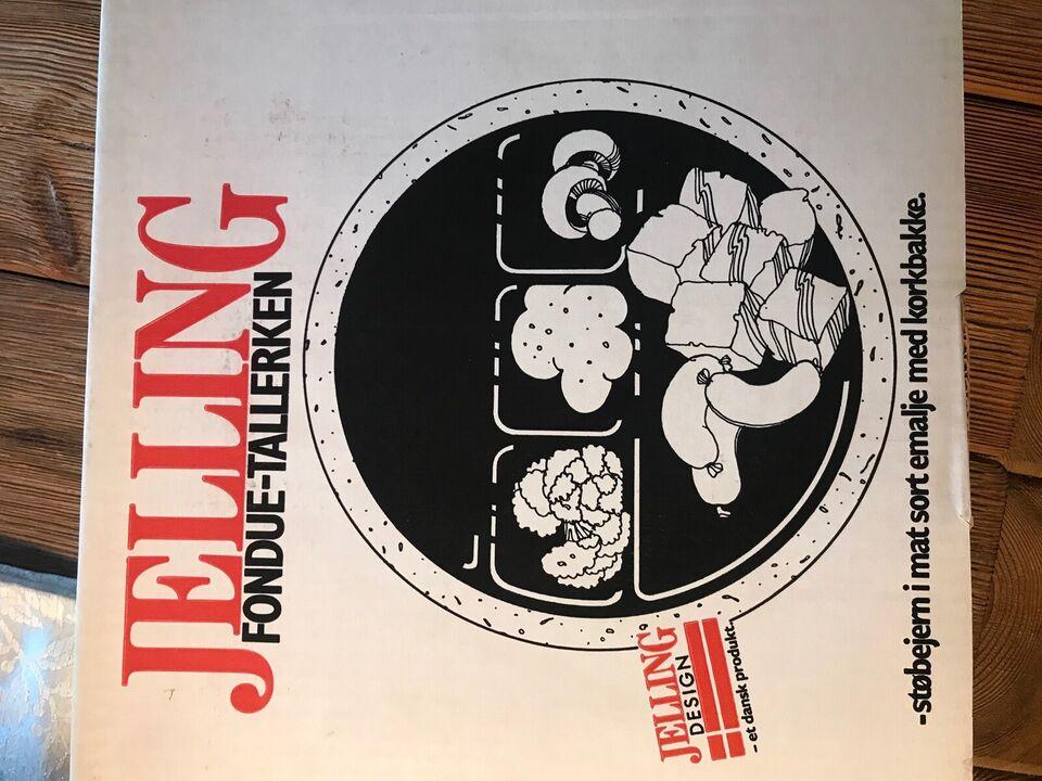 Andet, Fondue sæt og fondue tallerkner, Nissen/Jelling