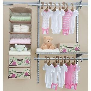 Image Is Loading Delta Children S Nursery Closet Organizer Bedroom Baby