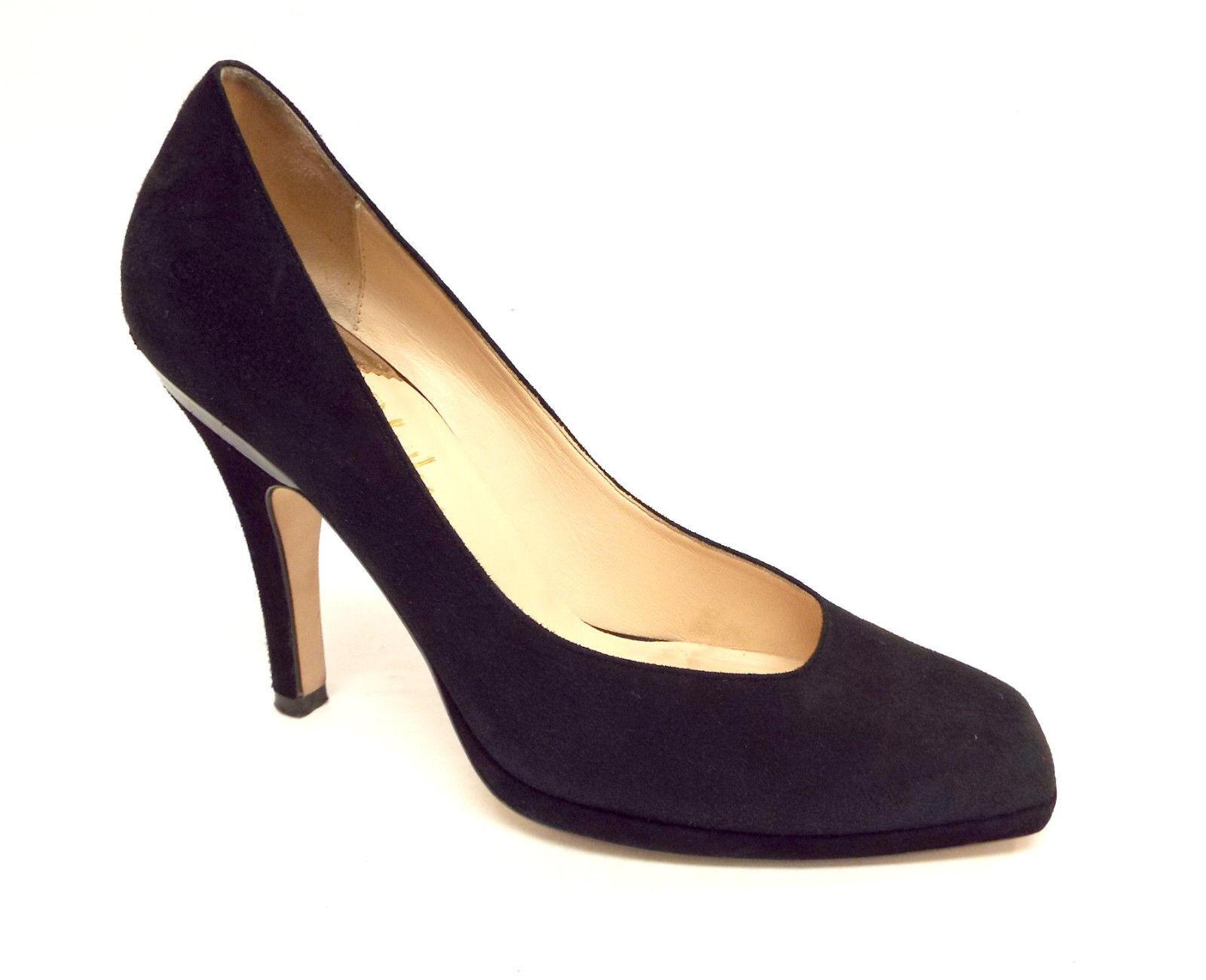 Cole Haan Talla 9 1 1 1 2 Negro Gamuza  Envío  N. Tacones Zapatos de salón de aire 9 1 2  autentico en linea