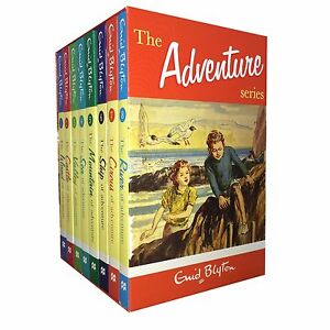 Enid-Blyton-039-s-Adventure-series-8-Books-Set-Collection-Childrens-Classic-Books