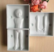Child Body Shape Decoration DIY Fondant Cake Molds/ People Mold
