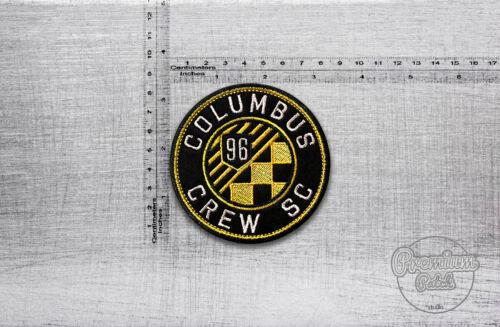 "MLS Columbus Crew SC club de football badge patch 8,5 cm x 8,5 cm//3,35/"" X 3,35/"""