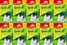 10 TUBI Flea Spot On piccolo medio grande cane cani, cane un trattamento delle pulci, zecche