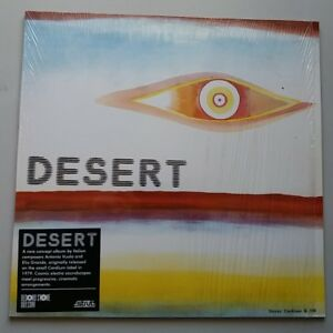 A. Vuolo E. Grande - Desert Vinyl LP UK 2013 Record Store Day Reissue EX+/EX+
