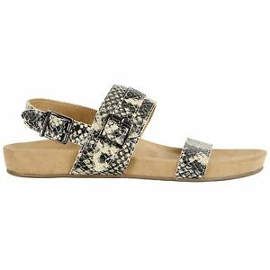 9da1bf9522196 Vionic Grace Samar Shiny Snake Cream Womens Strapped Sandals Leather ...