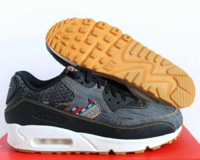 best sneakers c35e5 e42bd NIKE MEN AIR MAX 90 PREMIUM DENIM DARK OBSIDIAN SZ 7.5  700155-402