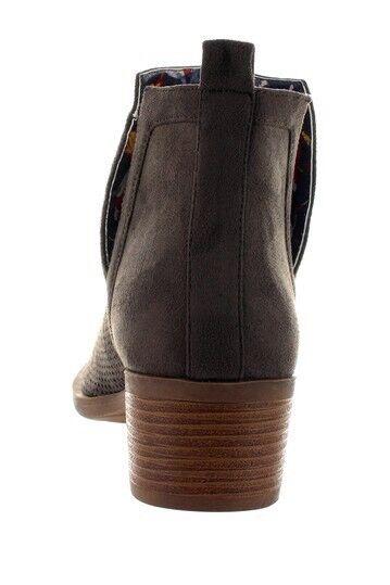 Christian Lacroix FCXL17505 Brown Suede Brunela Boots Size 8 8 8 33ab86