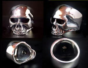 39fdc54e49362 Keith Richards Skull Ring Sterling Silver Rolling Stones Rare Boon ...