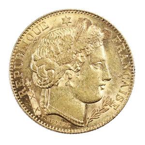 Piece-Or-France-10-Francs-Or-Ceres-1899-IIIeme-Republique