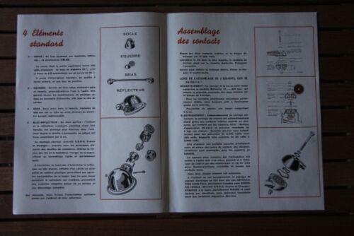 4 ARMS JIELDE 120cm liseuse shipment included Jean Louis DOMECQ 274€