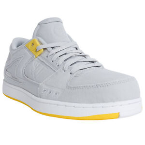 Warrior-LDOGGGY-034-Low-Dog-034-Men-039-s-Casual-Lifestyel-Shoes-Gray-Yellow