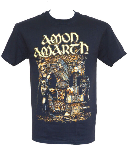 AMON AMARTH - THOR ODENS SON  - Official Licensed T-Shirt - New 2XL ONLY