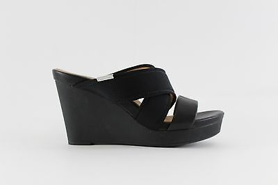 Calvin Klein Jileen Women US 7 Black Wedge Heel | eBay
