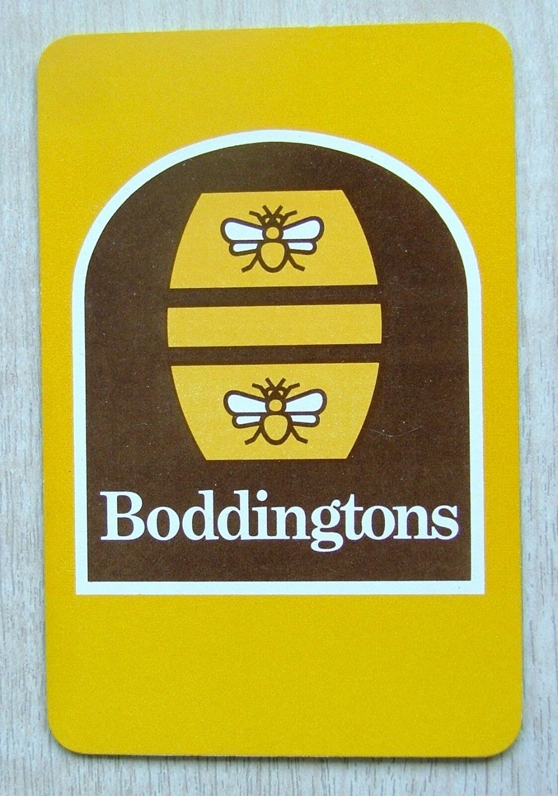 Boddingtons Brewery 1 X Swap Playing Card Barrel Bees Pc111 Ebay