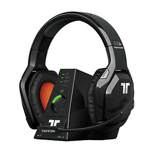 Details about Tritton Warhead 7.1 Dolby Surround Wireless Gaming Headset Headpone for Xbox 360