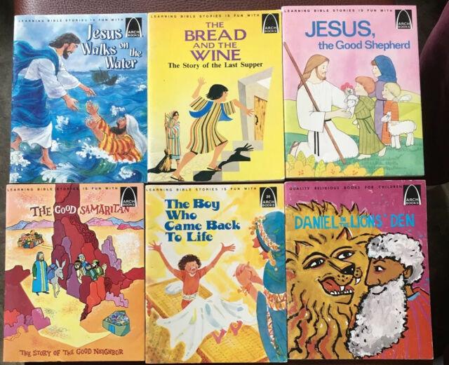 6 Vintage 1960s/70s ARCH BOOKS ~ Children Religious ...